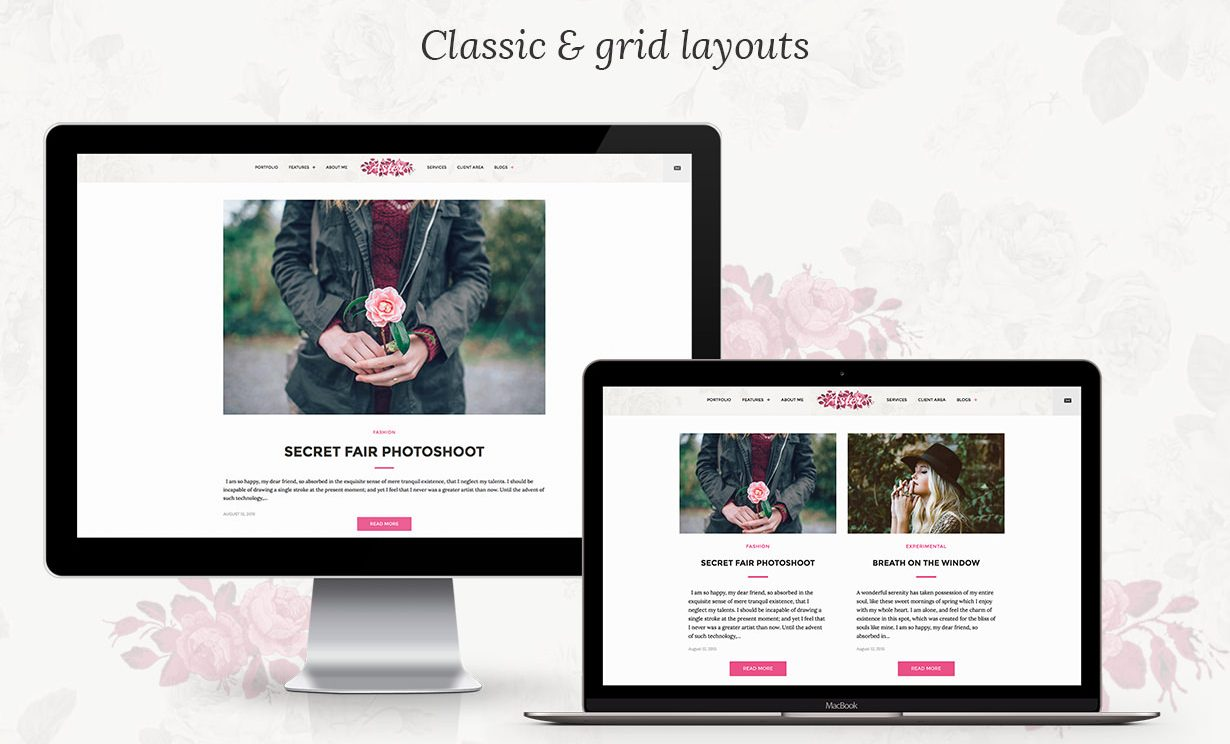 pretty blog themes feminine theme travel blogger stylish WordPress theme pretty blog layout best feminine wordpress themes startbloggingpros.com
