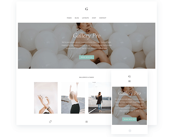 best feminine wordpress themes Glampro StudioPress startbloggingpros.com